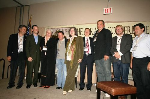 Group shot with Sharona at end of conference (1)