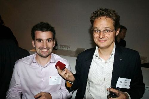 Cedric Giorgi from Goojet and Stephane Valorge from Clipperton Finance