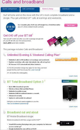 British telecom calls