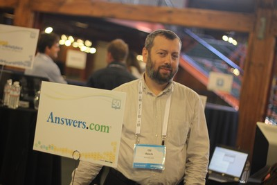 Gil-Reich Answersdotcom at TC50