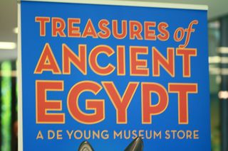Ancient Egypt exhibit