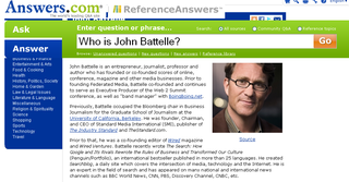 Who is john