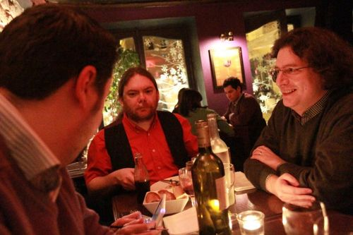 Traveling-Geeks kickoff dinner in Paris Les Bougresses in the Marais (22)