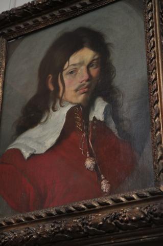 Paintings at LeLouvre - Bernardo Strozzi - portrait de jeune homme taken vers 1635 (22)