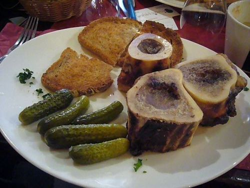 At a cafe in Montmartre Paris meals Dec 2009 (12)
