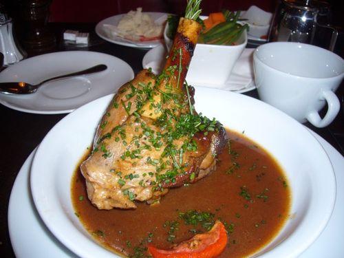 Lamb at les editeurs on carrefour de 'odeon Paris meals Dec 2009 (33)