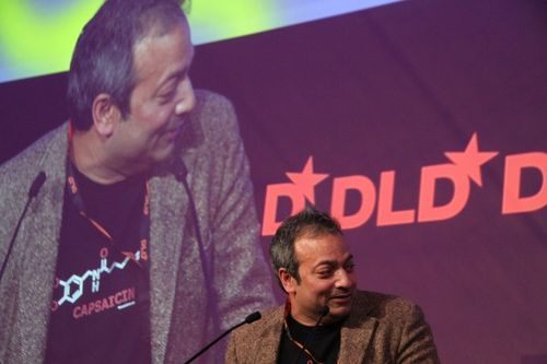 JP on DLD stage