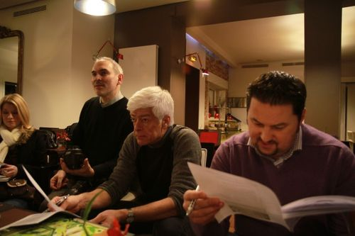 Traveling Geeks Kick off meeting and dinner at Les Bougresses in the Marais (10)