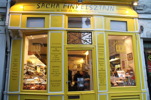 Sacha Finkelsztajn on 27 rue des rosiers in Le Marais in Paris (26)