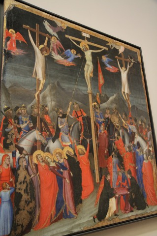 Paintings at LeLouvre  - Atelier De GIOTTO - La Crucifixion(11)