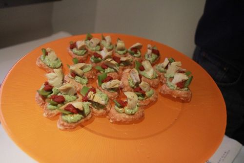 Food at Orange offices in Paris (1)