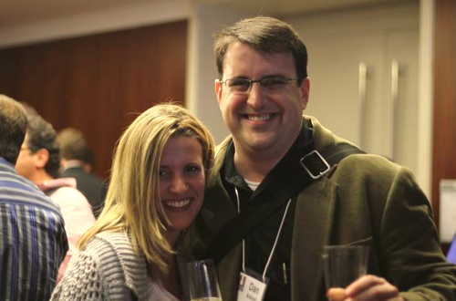 Rebecca Lynn and Dan Arkind