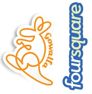 Gowalla and foursquare