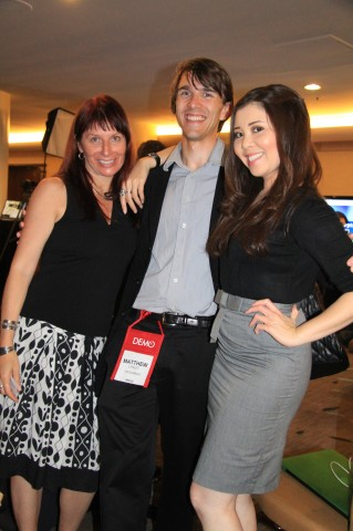Carol Tran Matthew Linley  of venturebeat and Renee Blodgett (5)