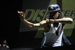 MC Hammer Show at TechCrunch Disrupt (95)