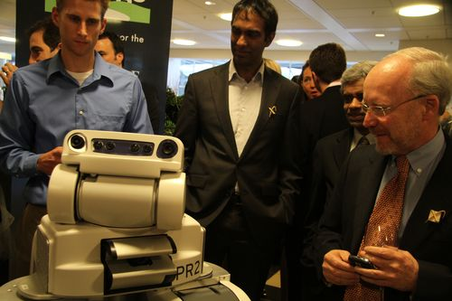 Texai engages with xprize crowd (2)