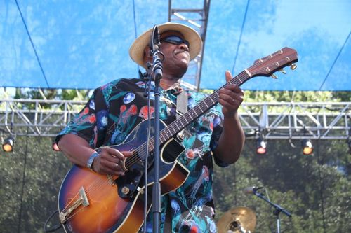 Taj Mahal at Santa Cruz Blues Festival (1)