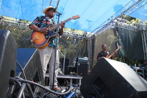 Taj Mahal at Santa Cruz Blues Festival (3)