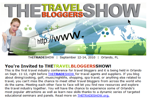 Travel bloggers show