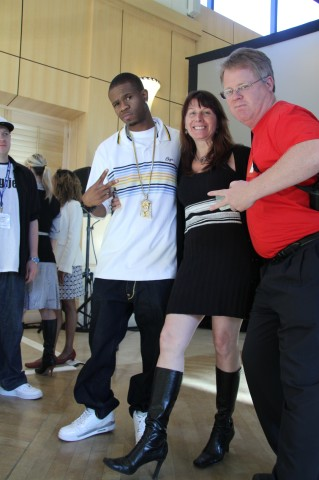 Rapper Chamillionaire Renee-Blodgett and Robert-Scoble (5)