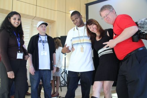 Rapper Chamillionaire Renee-Blodgett and Robert-Scoble (1)