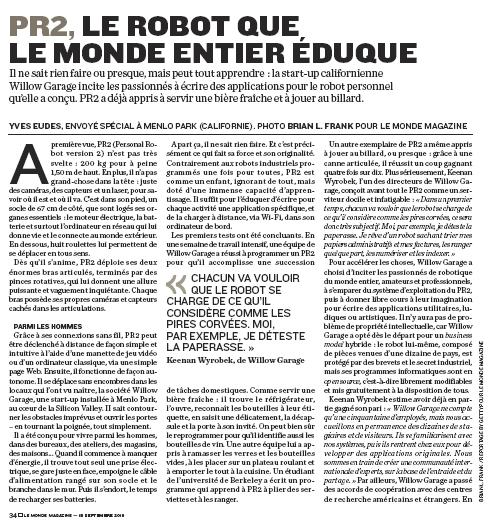 LeMonde Page 1