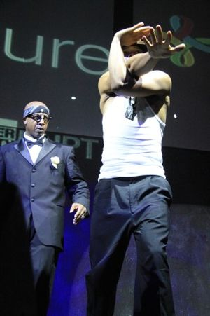 MC Hammer Show at TechCrunch Disrupt (82)