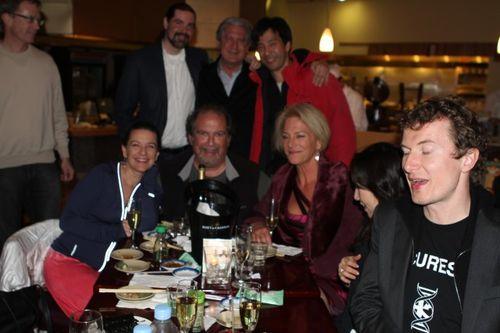 Group dinner in santa monica post ted