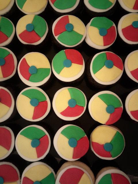 Google chrome cupcakes