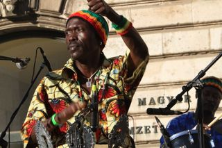 Mbaye-Ndiaye and Afro-Magic Band at buda Castle (20)