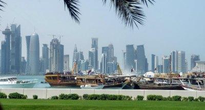 Doha from harbor javier