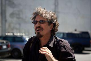 Rick Friedman on the set (2)