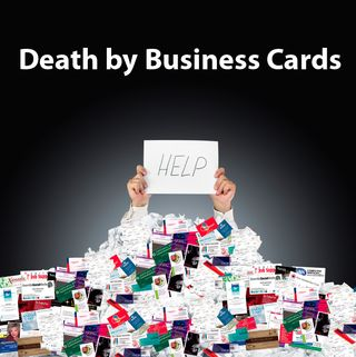 Death by Business Card