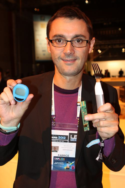 Fabrice with Hapifork (1)
