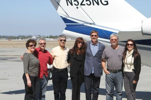 Nat-Goldhaber plane and group shot (3)