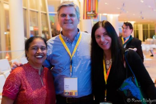 Steve-Case Lakshmi and Renee-Blodgett (2)