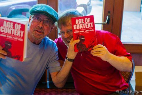 Shel and Robert book signing DENT (11)