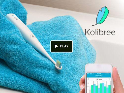 Kolibree Kickstarter screen grab